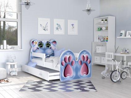dětská postel hroch