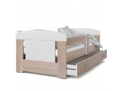 Dětská postel dub sonoma 11