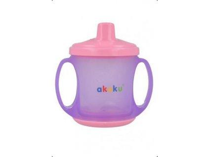 akuku hrníček pro děti fialový