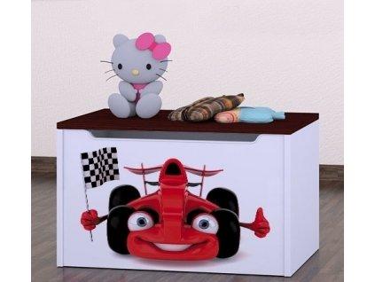 box na hračky knz auto s vlajkou (2)