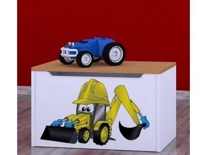 box na hračky knz bagr (6)