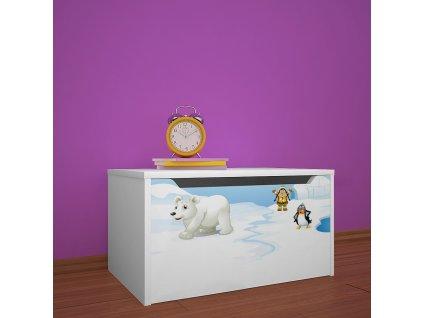 knz01 dm31 box na hračky s obrázkem antarktida (1)