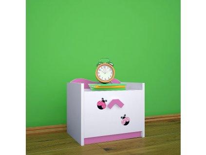 szn02 dm08 noční stolek s obrázkem beruška (5)