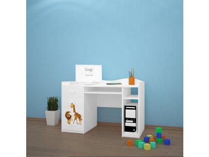 b02 dětský psací stůl dm33 s obrázkem afrika (2)