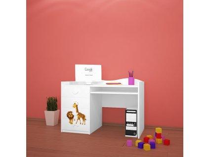 b03 dětský psací stůl dm33 s obrázkem afrika (2)