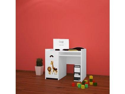 b11 dětský psací stůl 01 s obrázkem afrika (1)