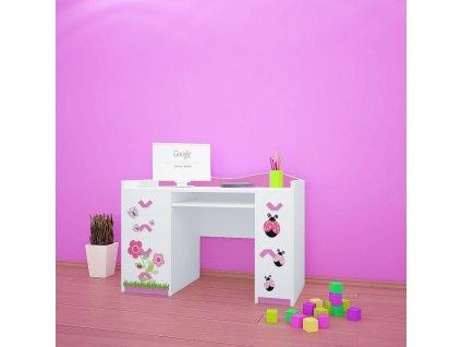 b01 psací stůl dm08 s obrázkem beruška (2)