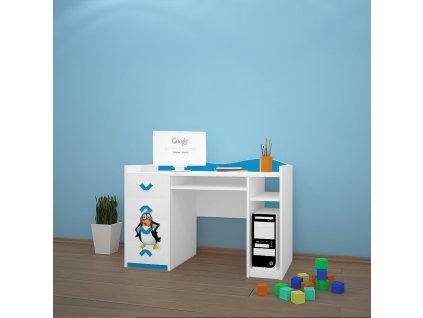 b02 dětský psací stůl dm31 s obrázkem antarktida (3)