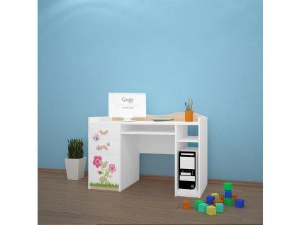 b02 dětský psací stůl dm08 s obrázkem beruška (2)