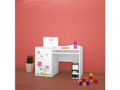 b03 dětský psací stůl dm08 s obrázkem beruška (1)