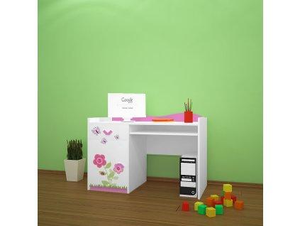 b04 dětský psací stůl 08 s obrázkem beruška (4)