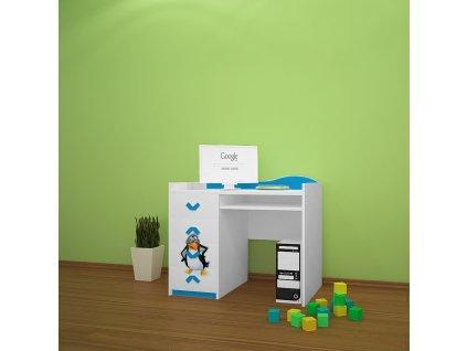 b08 dětský psací stůl dm31 s obrázkem antarktida (2)