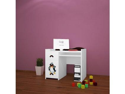 b10 dětský psací stůl dm31 s obrázkem antarktida (1)