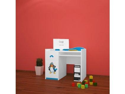 b11 dětský psací stůl 31 s obrázkem antarktida (3)