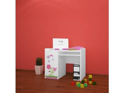 b11 dětský psací stůl 08 s obrázkem beruška (4)