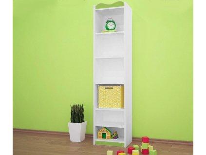 rw03 dětský regál zelený