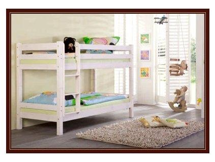 Poschoďová postel 200 x 90 cm