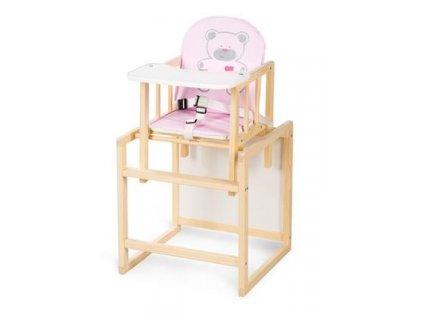 jídelní židlička dřevěná aga