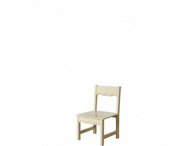 Dětská židle provence prestige vanilka