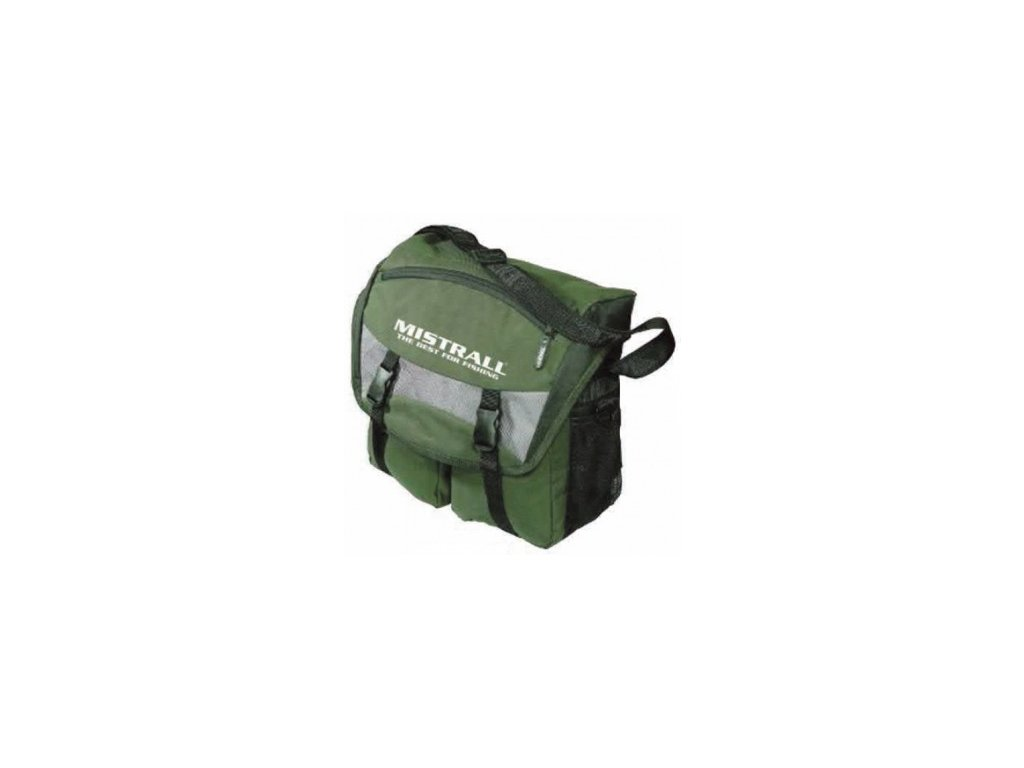 Mistrall rybářská taška 34x15x32, zelená