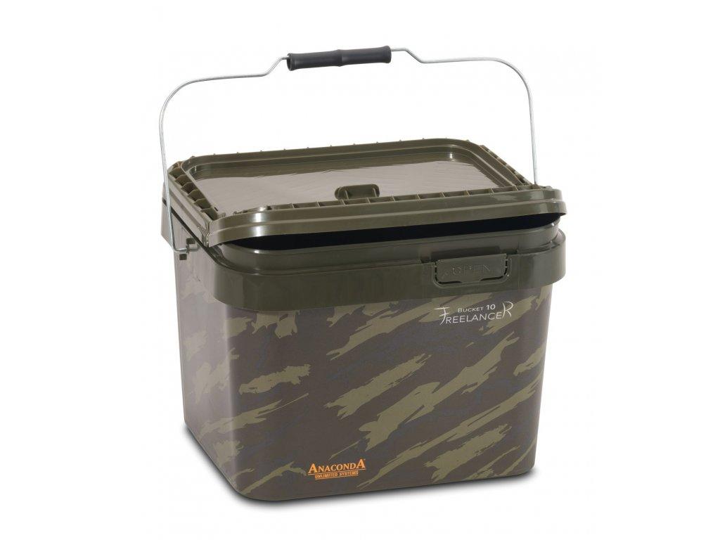 Anaconda kbelík Freelancer Bucket, 10 litrů