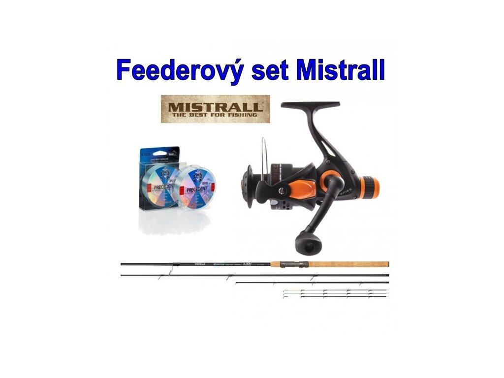 Mistrall feederový set Stratus 3,60m