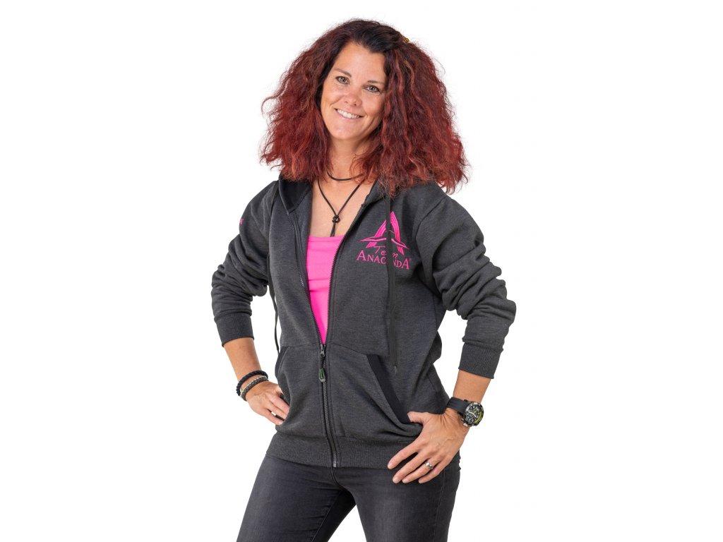 Mikina Anaconda Lady Team Zipper Hoodie