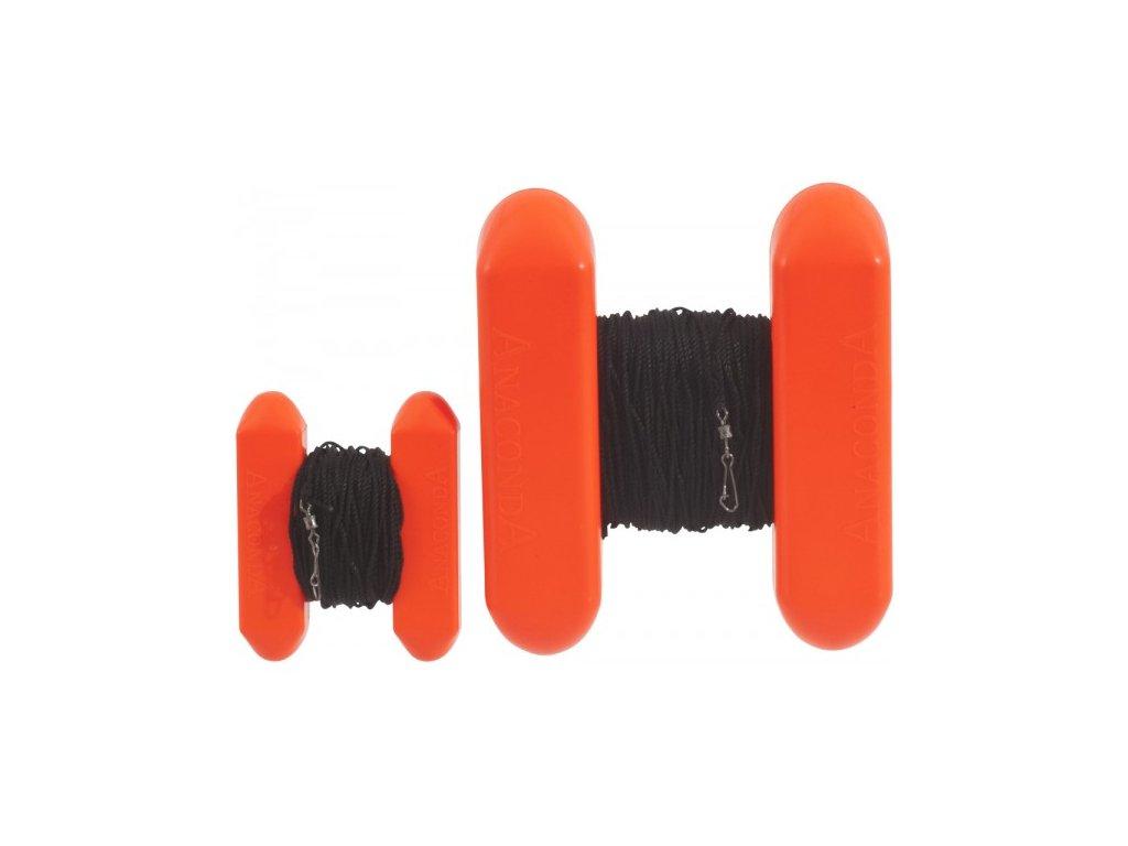 Anaconda H –bojka Cone Marker, bez zátěže, fluorooranžová, 6,5 x 8 cm