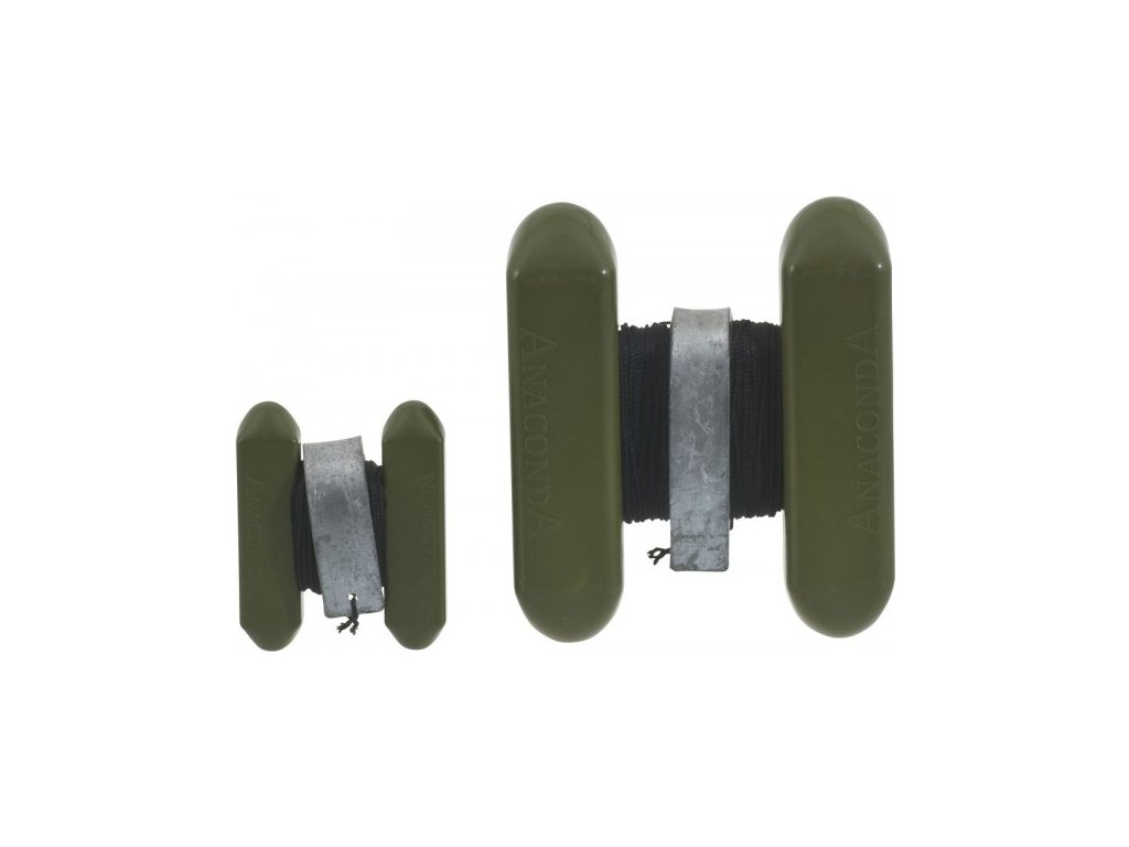 Anaconda H –bojka Cone Marker, se zátěží, army zelená, 12 x 14 cm