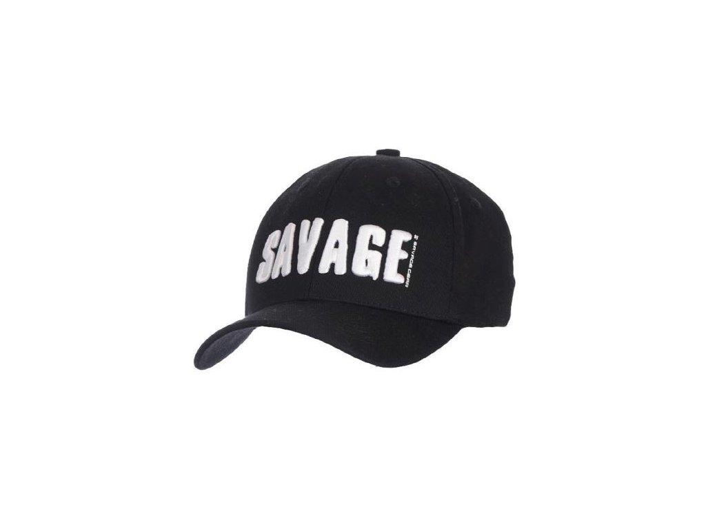 savage gear ksiltovka simply savage 3d logo cap