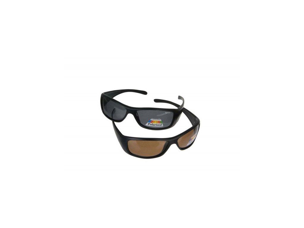 Brýle proti slunci Pol-Glasses 3 varianta: šedá