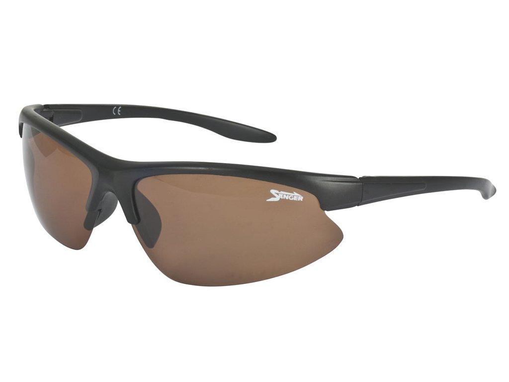 Saenger sluneční brýle Pol-Glasses 5, jantar