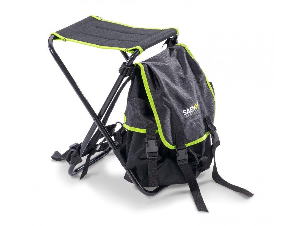 Saenger židlička s batohem Backpacker Chair
