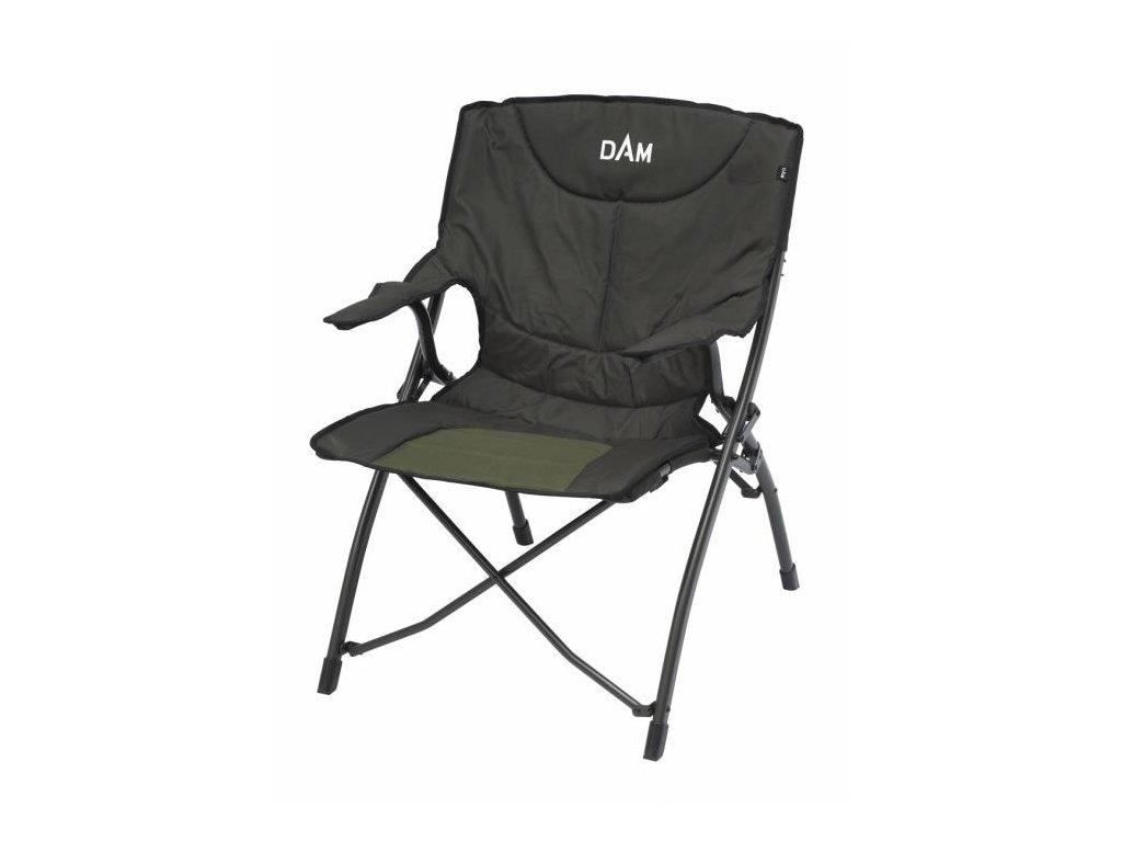 kreslo dam foldable chair dlx steel original