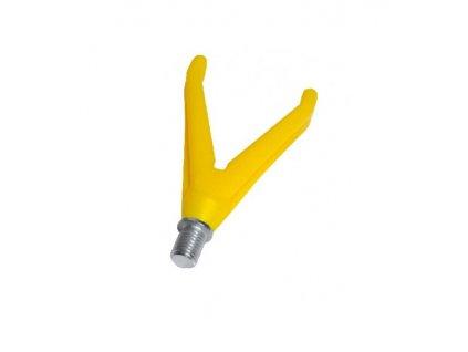 """Daemons rohatinka plastová s čepem W3/8"""" žlutá varianta: přední """"V"""""""