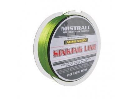 Mistrall pletená šňůra Admunson Sinking Line