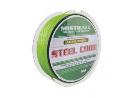 Mistrall pletená šňůra s ocelovým jádrem Admuson Steel Core