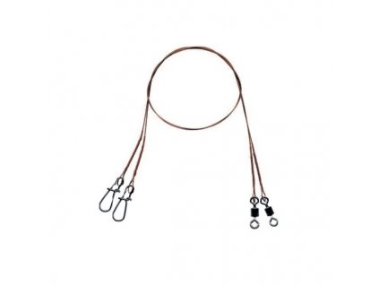 Mistrall ocelové lanko pro lov dravců 1 x 7 (15 kg)