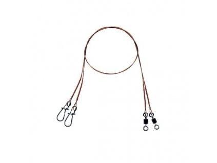 Mistrall ocelové lanko pro lov dravců 1 x 7 (20 kg)