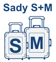 Sady kufrov S,M