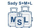Sady kufrov S,M,L