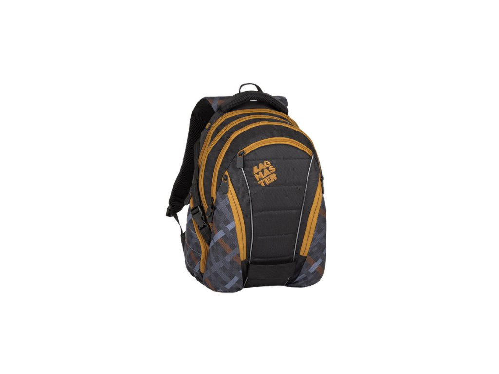 Bagmaster BAG 8 E BLACK/GRAY/BROWN  + LED Čelovka 3W