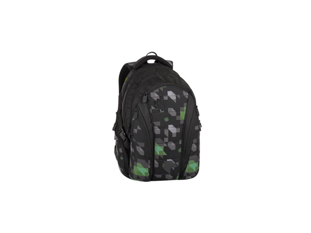 Bagmaster BAG 8 G BLACK/GREEN/GRAY  + LED svítilna