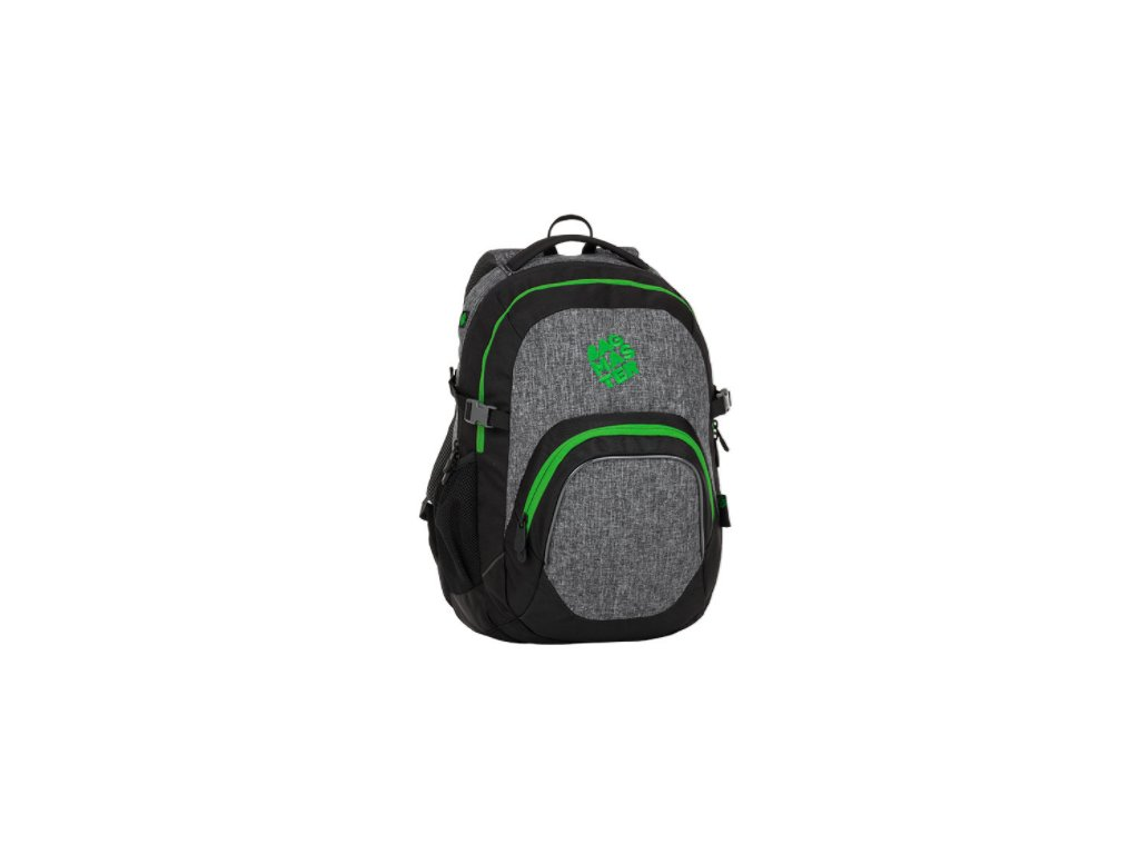 eddae86d64 Bagmaster MATRIX 8 B BLACK GRAY GREEN + LED Svítilna - SvetBatohov.sk