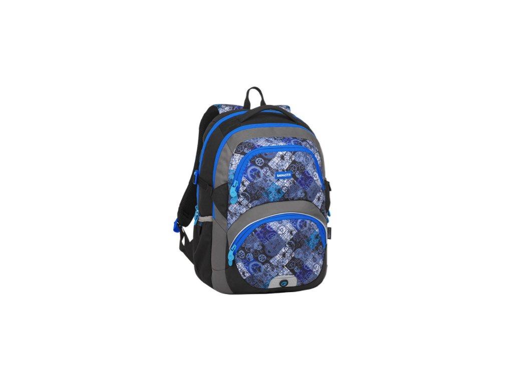 Bagmaster THEORY 8 D BLACK/BLUE/GRAY  + LED Čelovka 3W