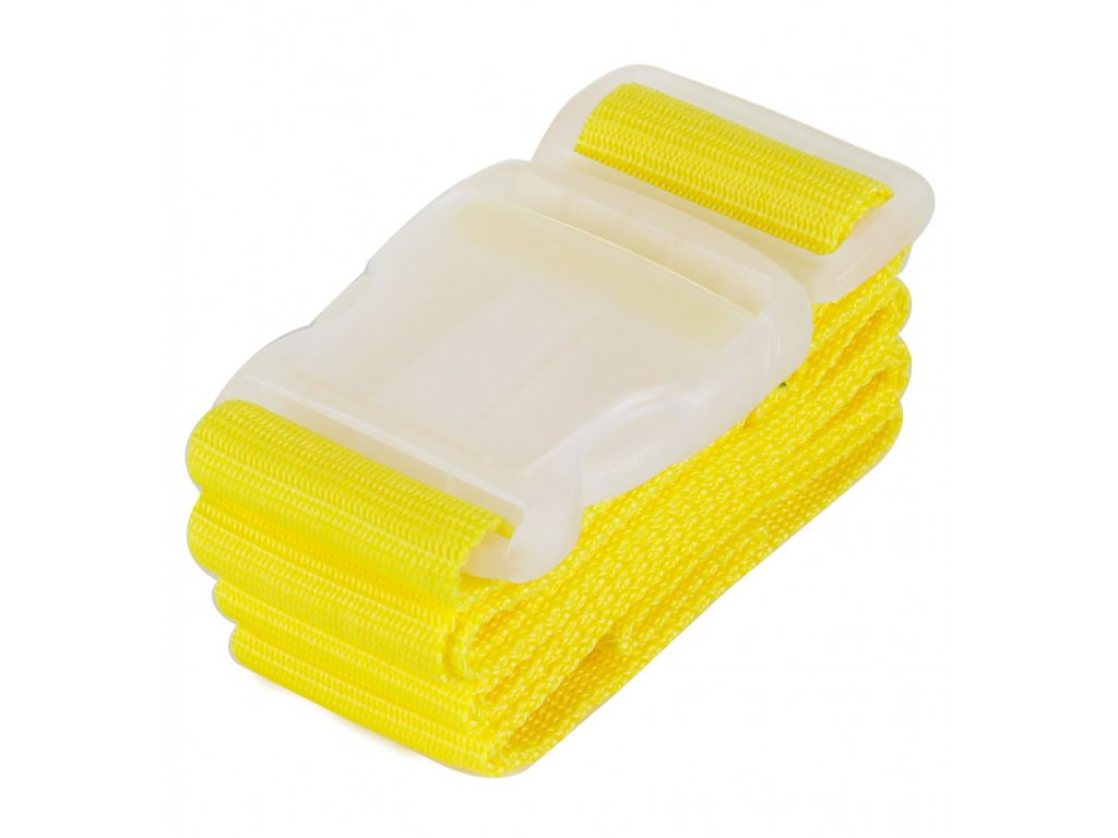 Bezpečnostní popruh na kufor ROCK TA-0013 - žltá