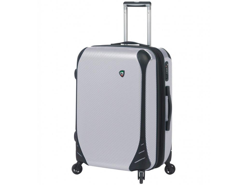 cestovný kufor MIA TORO M1021/3-L - biela  + LED Čelovka 3W