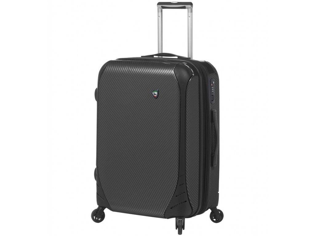 cestovný kufor MIA TORO M1021/3-L - čierna  + LED Čelovka 3W