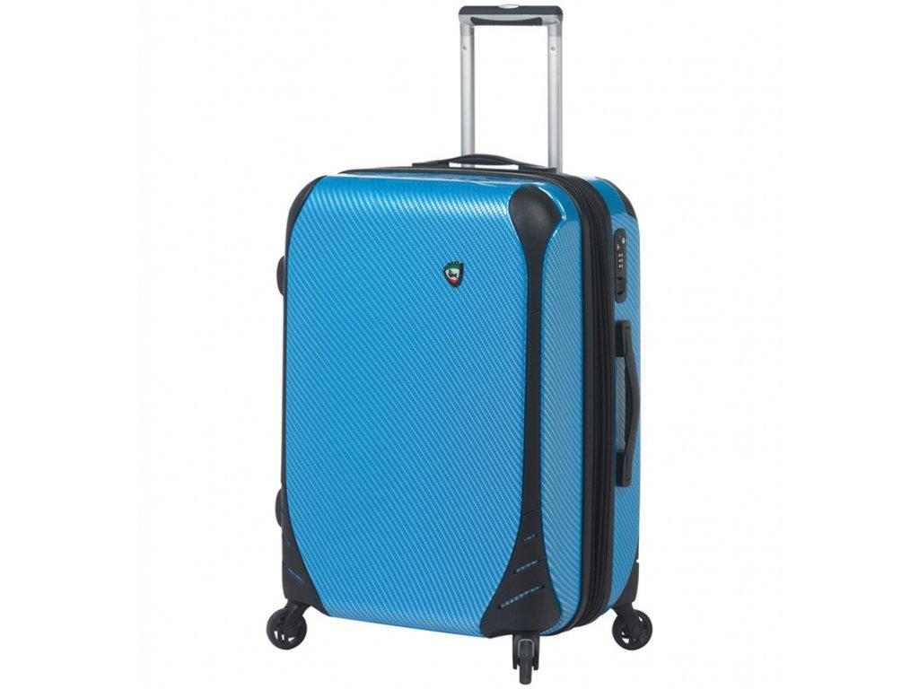 cestovný kufor MIA TORO M1021/3-M - modrá  + LED svítilna