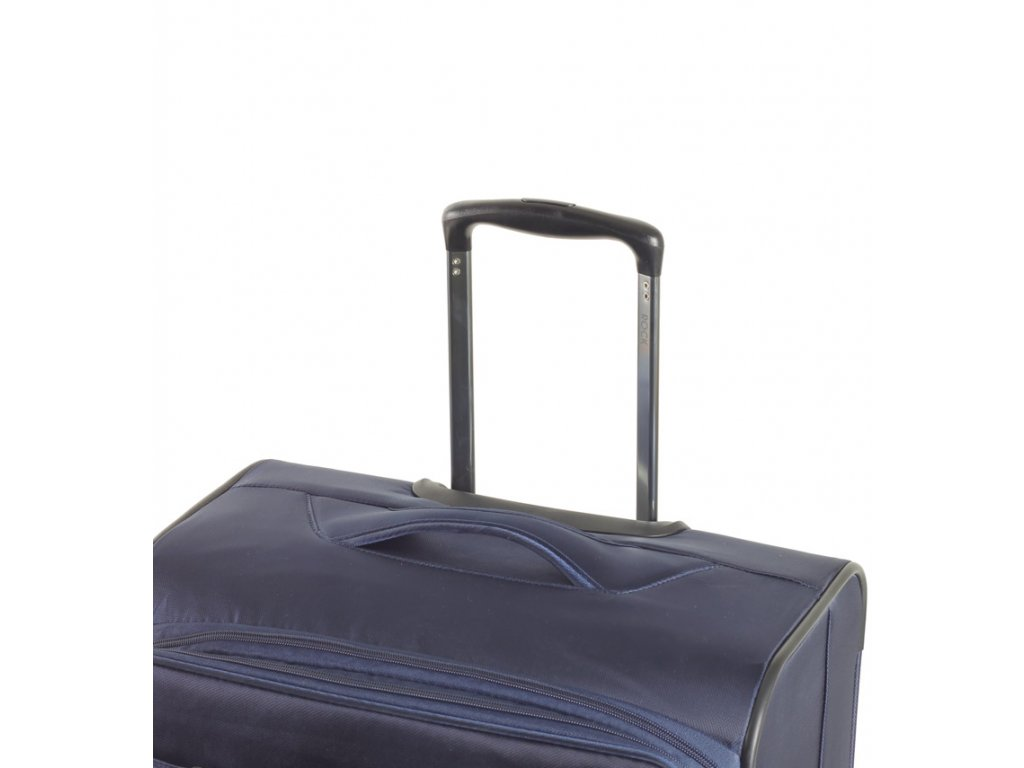4a1e4e42f6ac2 cestovný kufor ROCK TR-0161/3-L - modrá + LED Svítilna - SvetBatohov.sk
